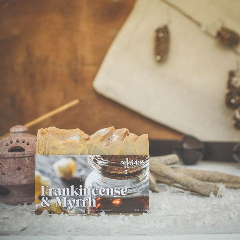Frankincense & Myrrh Artisan Bar Soap