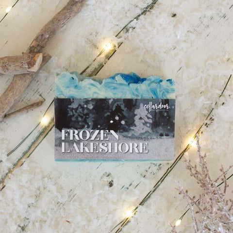 Frozen Lakeshore Artisan Bar Soap