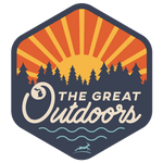 Great Outdoors Die-Cut Sticker
