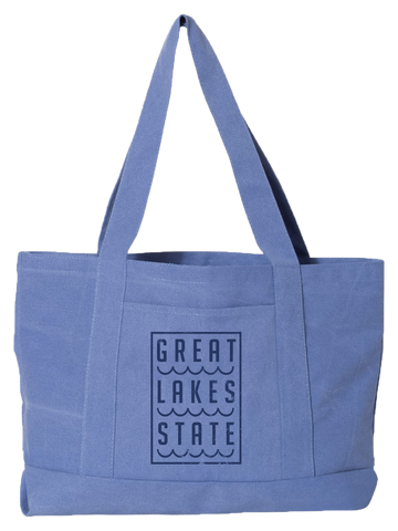 Great Lakes State Boat Tote