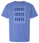 Great Lakes State Pigment Dyed T