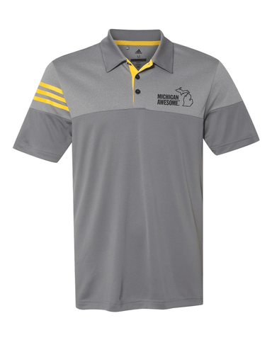 Michigan Awesome Men's Golf Polo