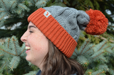 Michigan Twist Knit Beanie