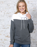 Women's Colorblock Cowl Neck Pullover