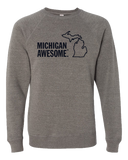 Michigan Awesome Crewneck Sweatshirt (CLOSEOUT)