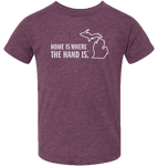 Home is Where the Hand Is Kids T-Shirt
