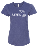 Flintastic Women's Scoopneck T