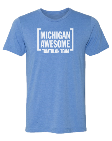 Michigan Awesome Triathlon Team Men's / Unisex T-Shirt