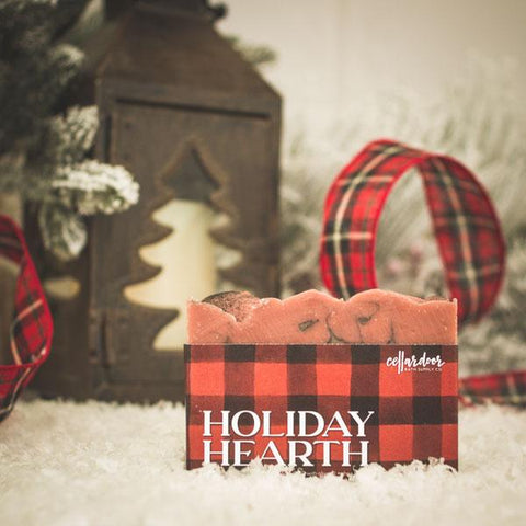 Holiday Hearth Artisan Bar Soap