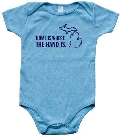 56e1c1bb3a61 Short Sleeve Onesies – Michigan Awesome