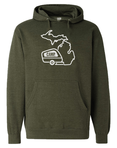 Camp Michigan Hoodie