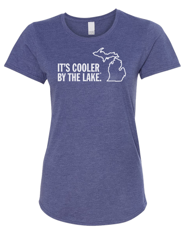 Cooler by the Lake Women's Scoopneck T