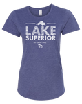 My Great Lake Superior Women's Scoopneck T