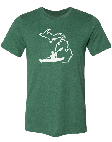 Kayak Michigan Unisex T-Shirt