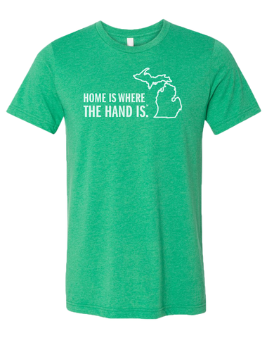 Home is Where the Hand Is Unisex T-Shirt (CLOSEOUT)