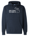 Home Is Where The Hand Is Hoodie