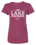 My Great Lake Ontario Women's Scoopneck T