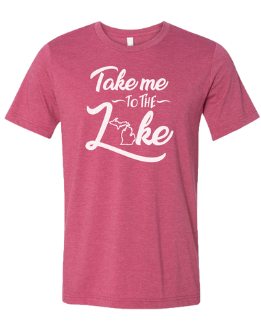 Take me to the Lake Unisex T-Shirt (CLOSEOUT)