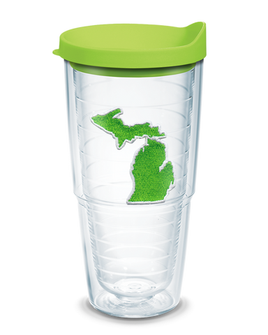 Michigan Emblem 24 oz Tervis® Tumbler