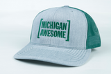 Michigan Awesome Brackets Trucker Hat
