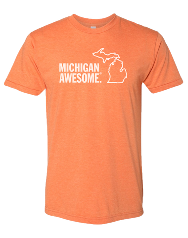Michigan Awesome Poly/Cotton T-Shirt (CLOSEOUT)