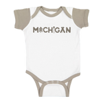 Michigan Outdoors Color Block Onesie (CLOSEOUT)