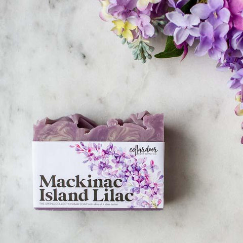 Mackinac Island Lilac Artisan Bar Soap