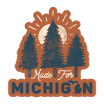 Made for Michigan Die-Cut Sticker