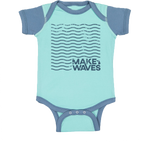 Make Waves Color Block Onesie (CLOSEOUT)