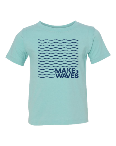 Make Waves Kids T-Shirt