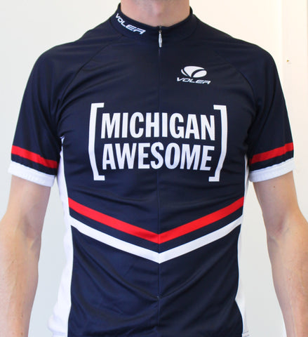 Michigan Awesome Men's Cycling Jersey ORIGINAL (CLOSEOUT)