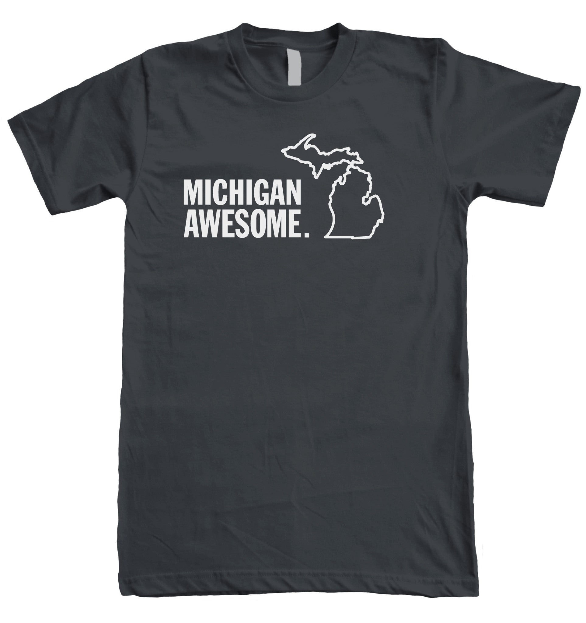 Michigan Awesome, Michigan shopping on ShopMyNorth for Michigan apparel including Smitten With The Mitten, Home is Where the Heart Is.