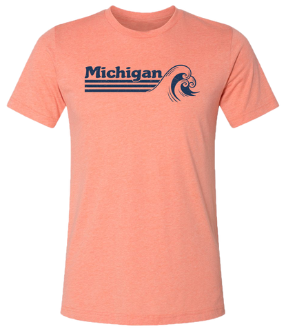 Michigan Waves Unisex T-Shirt (CLOSEOUT)