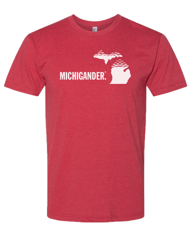 Michigander Poly/Cotton T-Shirt (CLOSEOUT)