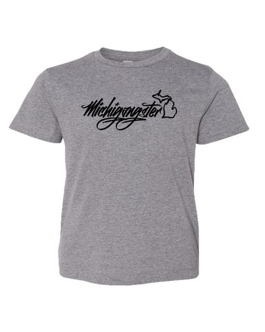 Michigangster Graffiti Kids T-Shirt (CLOSEOUT)
