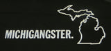 Michigangster White Vinyl Sticker