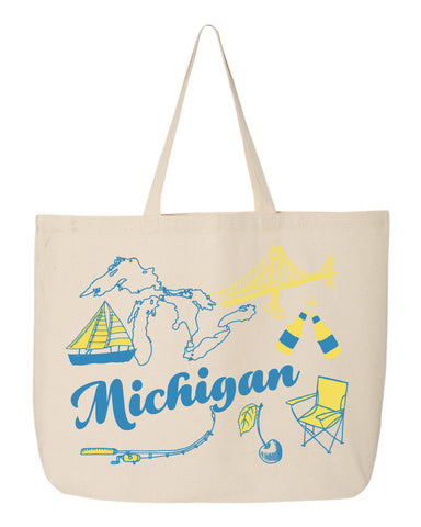 NEW Michigan Beach Tote