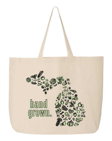 Hand Grown Market Tote