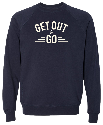 Get Out and Go Unisex Crewneck Sweatshirt