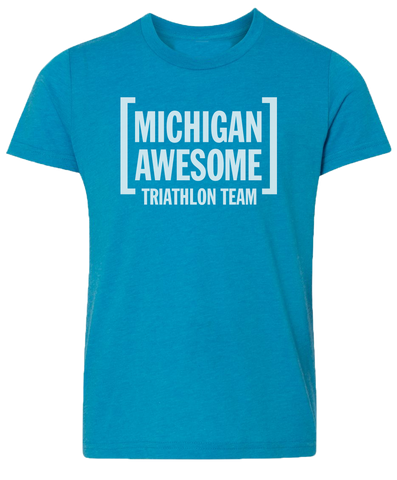 Michigan Awesome Triathlon Team Kids T-Shirt