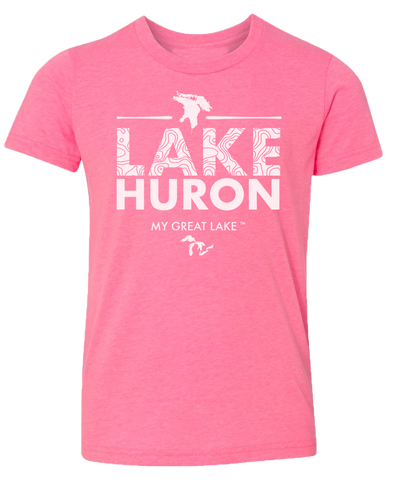 My Great Lake Huron Kids T-Shirt