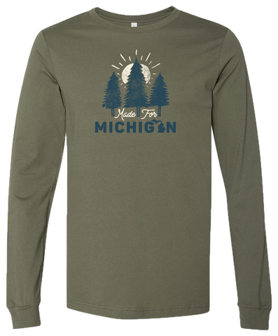 Made for Michigan Long Sleeve T-Shirt