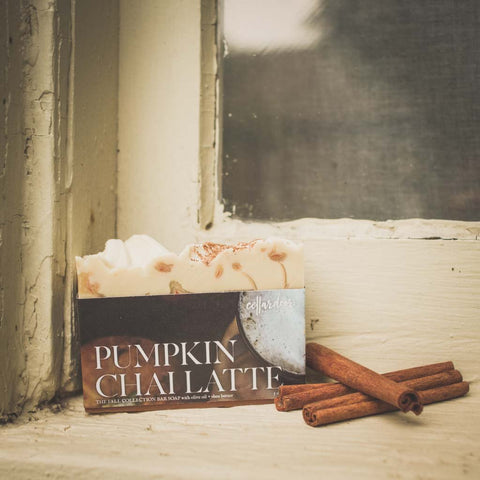 Pumpkin Chai Latte Artisan Bar Soap