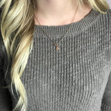 Rose Gold Mini Michigan Necklace