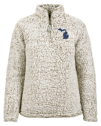 Women's Sherpa Quarter Zip (CLOSEOUT)