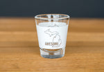 Michigan Awesome Shot Glass