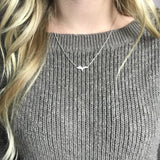 Silver Upper Peninsula Necklace