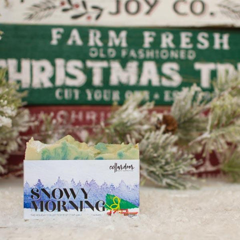 Snowy Morning Artisan Bar Soap