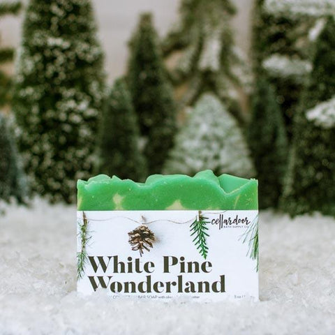 White Pine Wonderland Artisan Bar Soap
