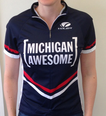 Michigan Awesome Women's Cycling Jersey ORIGINAL (CLOSEOUT)